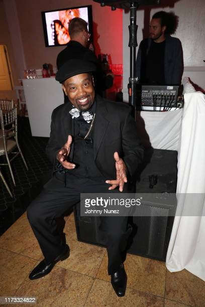Cutmaster Cool V attends the Treach Cicely Evans Wedding at Waterside Reception Hall on September 08 2019 in North Bergen New Jersey