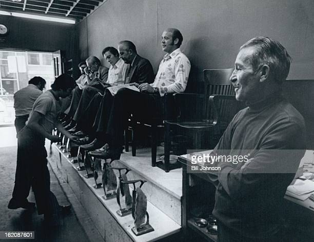 SEP 13 1976 SEP 20 1976 Cutomers Filled Abeyta's Shop Up To Last While He Recalled Years In Shoe Shine Business Customers in Shop have included...