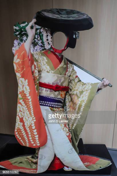 Cutout at Kabukiza Gallery Kabuki is a traditional Japanese form of theater developed during the Edo Period rich in showmanship and involves...