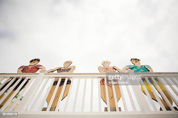 cutouts - human representation stock pictures, royalty-free photos & images