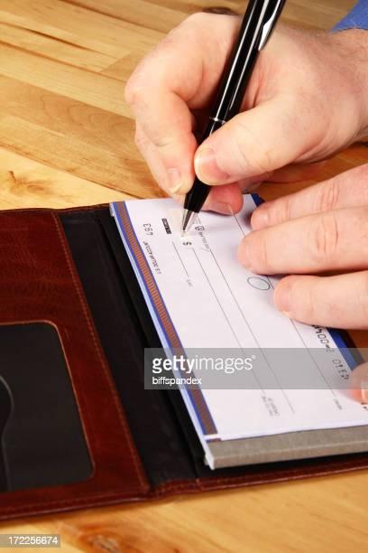 Cutting A Check