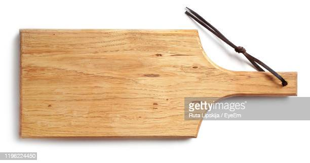 cutting board on white background - cutting board stock pictures, royalty-free photos & images