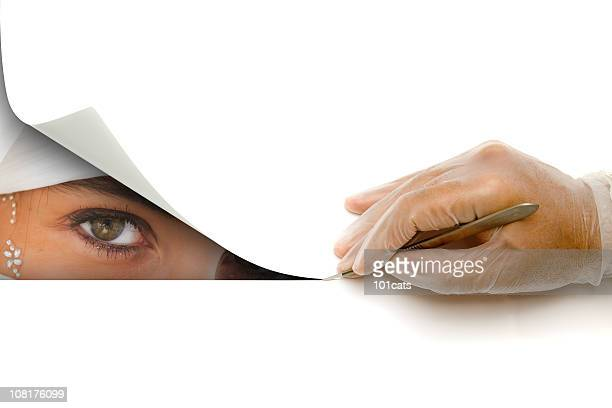 cutting - scalpel stock photos and pictures