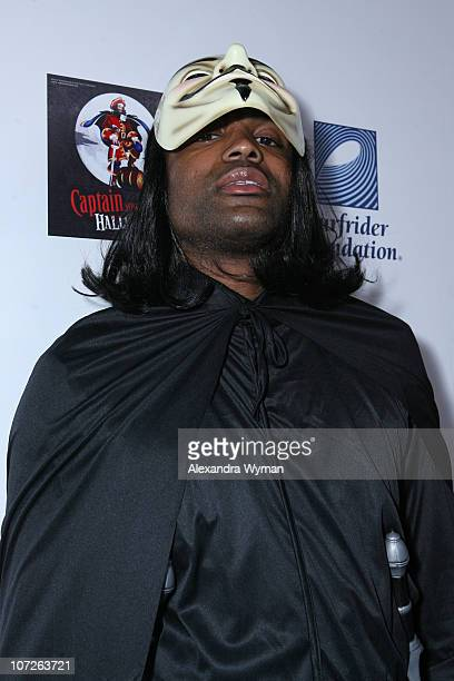 Cuttino Mobley at Heidi Klum's Halloween Party held at The Green Door on October 31 2007 in Hollywood California