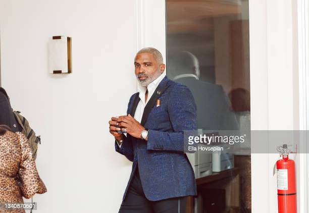Cuttino Mobley attends The One And Only, Dick Gregory, Album Release Event on September 16, 2021 in Burbank, California.
