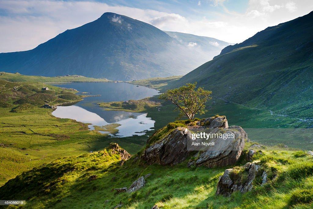 Cwm Idwal, Snowdonia, North Wales : Stock Photo