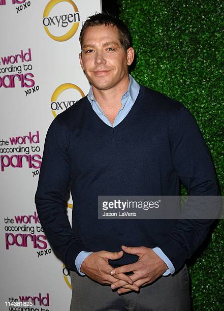 Cy Waits attends Oxygen's The World According To Paris premiere party at Tropicana Bar at The Hollywood Rooselvelt Hotel on May 17 2011 in Hollywood...