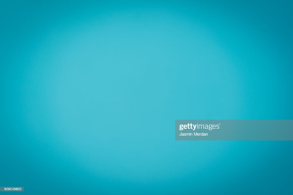 Cyan background : Stock Photo