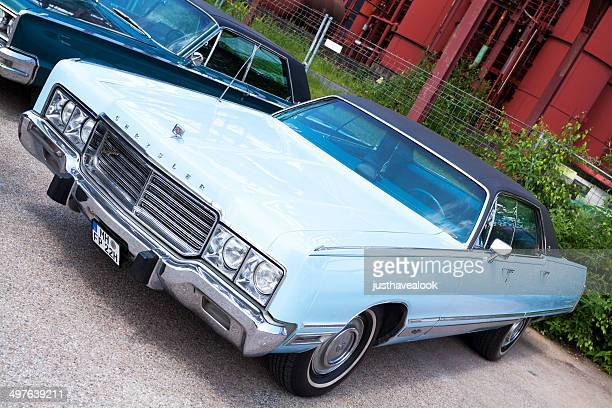 Cyan Chrysler New Yorker