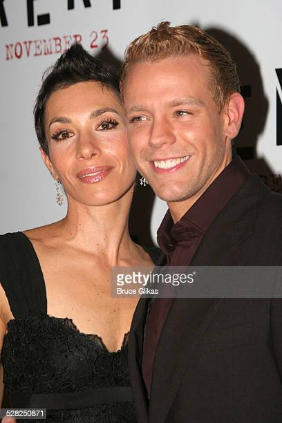 Cybele and Adam Pascal during ''Rent'' New York City Premiere Arrivals at Ziegfeld Theater in New York City New York United States