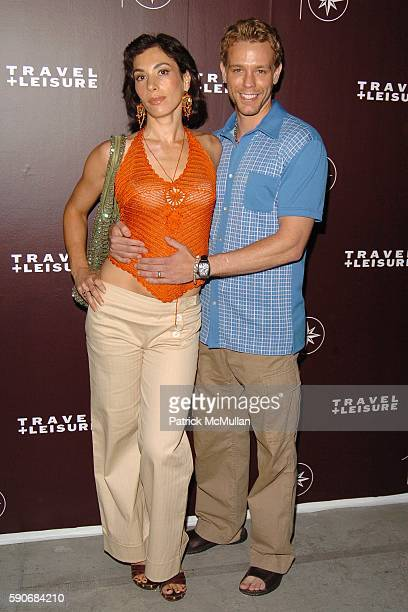Cybele Pascal and Adam Pascal attend TRAVEL LEISURE Magazine's World's Best Awards 2005 Party at Skylight Studios on July 14 2005 in New York City