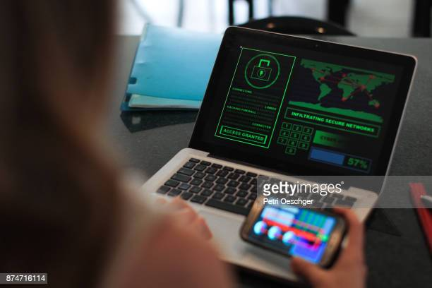 cyber attacks - dark web stock pictures, royalty-free photos & images