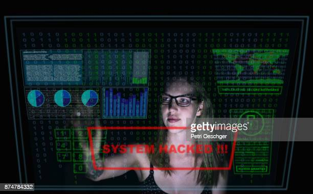 cyber attacks - security code stock photos and pictures