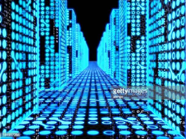 Cyber-Hintergrund