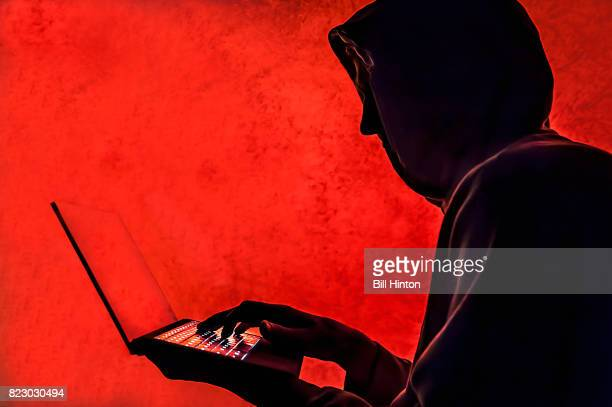 cyber hacker red - dark web stock pictures, royalty-free photos & images