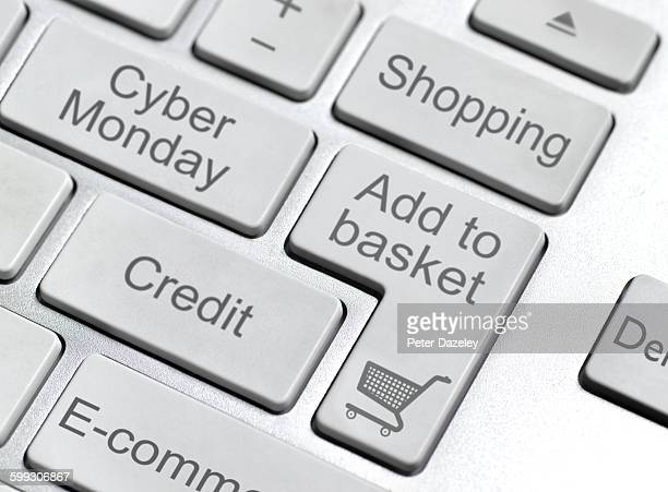 cyber monday keyboard button - cyber monday stock pictures, royalty-free photos & images