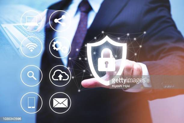 cyber security, data protection, information safety and encryption - security stock pictures, royalty-free photos & images