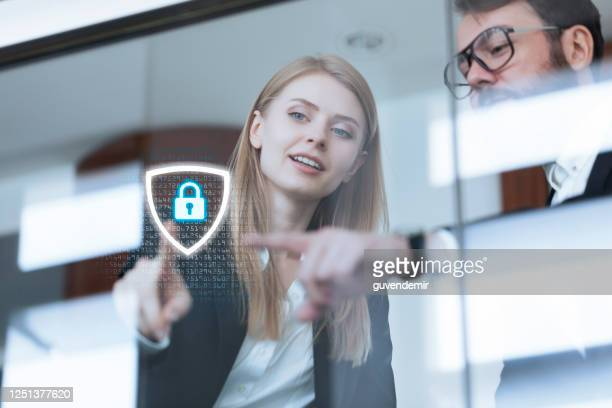cyber security systems for business network - security stock pictures, royalty-free photos & images