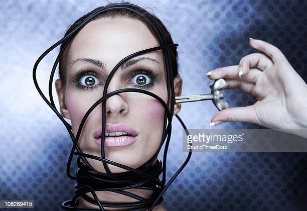 cyber-Frau