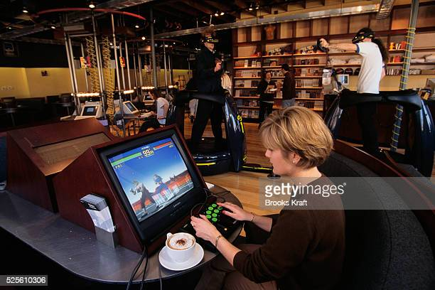 Cybercafe in Boston