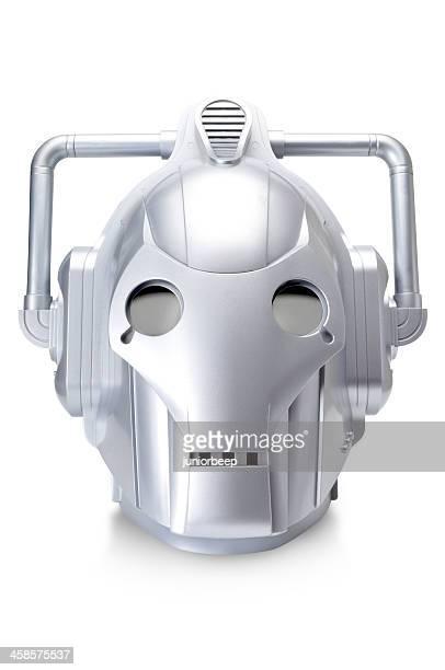 cyberman bbc テレビ dr who ロボットキャラクター - ドクター フー ストックフォトと画像