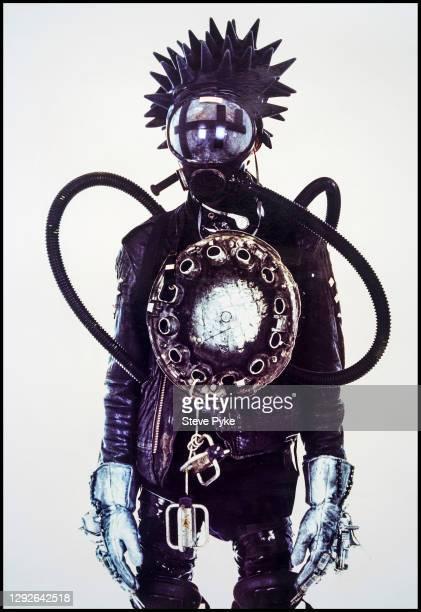Cyberpunk, studio shot, London, UK, 27th May 1990.