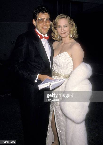 Cybill Shepherd and Bruce Oppenheim during 14th Annual People's Choice Awards at 20th Century Fox Studios in Los Angeles California United States