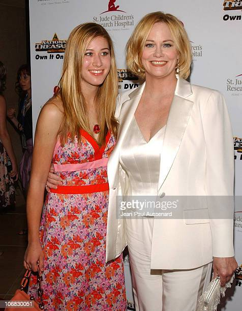 Cybill Shepherd and daughter Ariel during 3rd Annual Runway For Life Benefiting St Jude Children's Research Hospital Arrivals at Beverly Hilton in...