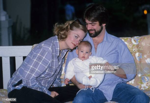 Cybill Shepherd and Family Clementine Ford and David M Ford poses for a portrait in 1979 in Los Angeles California