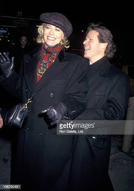 Cybill Shepherd and Robert Martin during 'Master Class' New York City Perfomance February 2 1996 at Golden Theatre in New York City New York United...