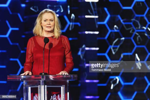 Cybill Shepherd attends the Comedy Central Roast Of Bruce Willis on July 14 2018 in Los Angeles California