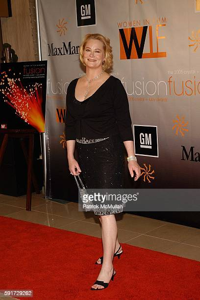 Cybill Shepherd attends Women in Film Presents Fusion The 2005 Crystal Lucy Awards at The Beverly Hilton Hotel on June 10 2005