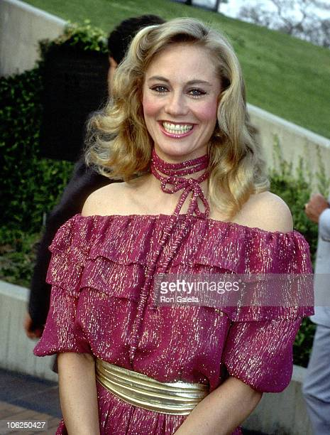 Cybill Shepherd during Cybill Shepherd Sighting at JPaul Getty Museum May 1 1984 at J Paul Getty Museum in Los Angeles California United States