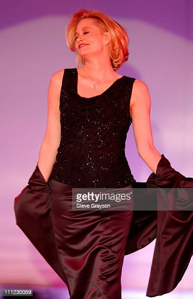 Cybill Shepherd during Runway For Life Fashion Show to Benefit St Jude Children's Research Hospital Show at The Beverly Hilton Hotel in Beverly Hills...