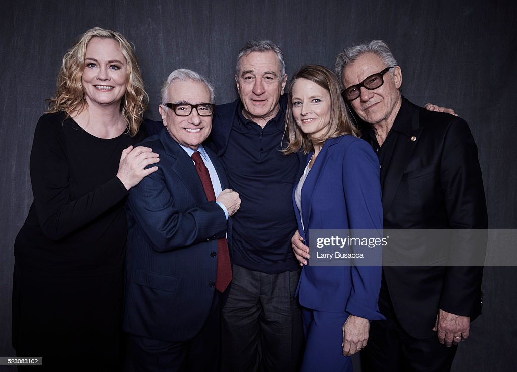 "NY: ""Taxi Driver"" 40th Anniversary Screening Cast Portrait - 2016 Tribeca Film Festival"