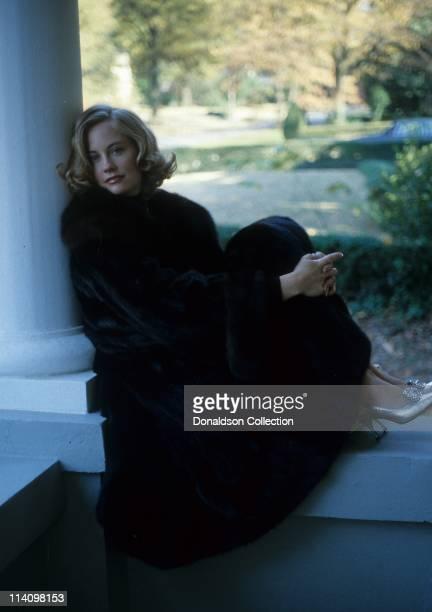 Cybill Shepherd poses for a portrait in c1987 in Los Angeles California