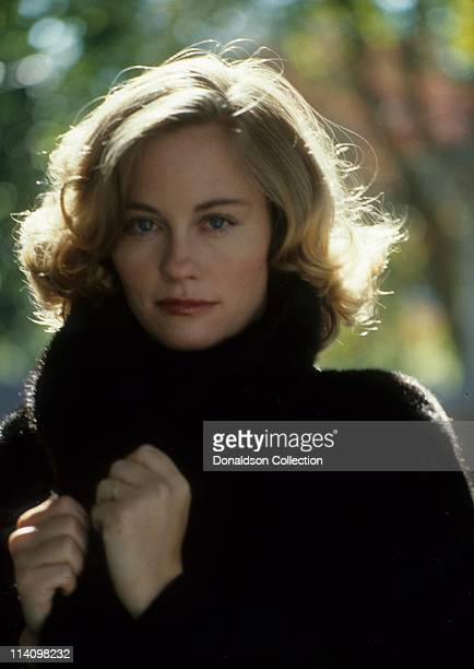 Cybill Shepherd poses for a portrait in c1987 in Los Angeles California