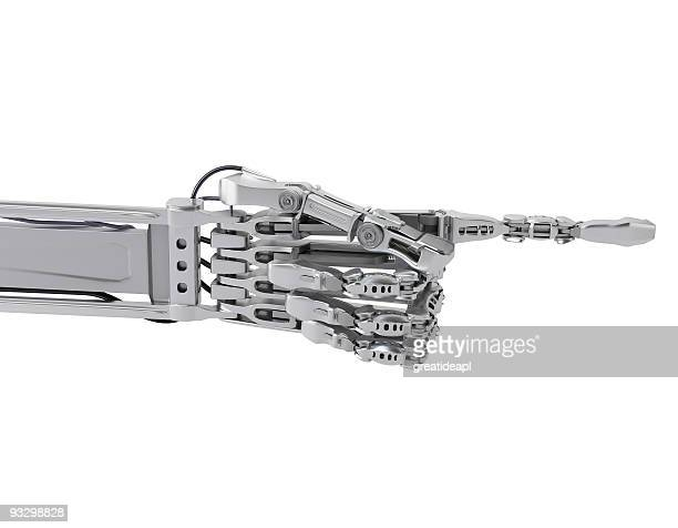 cyborg hand show direction