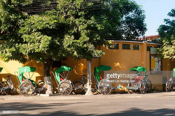 Cycle rickshaw in Hoi An Vietnam.