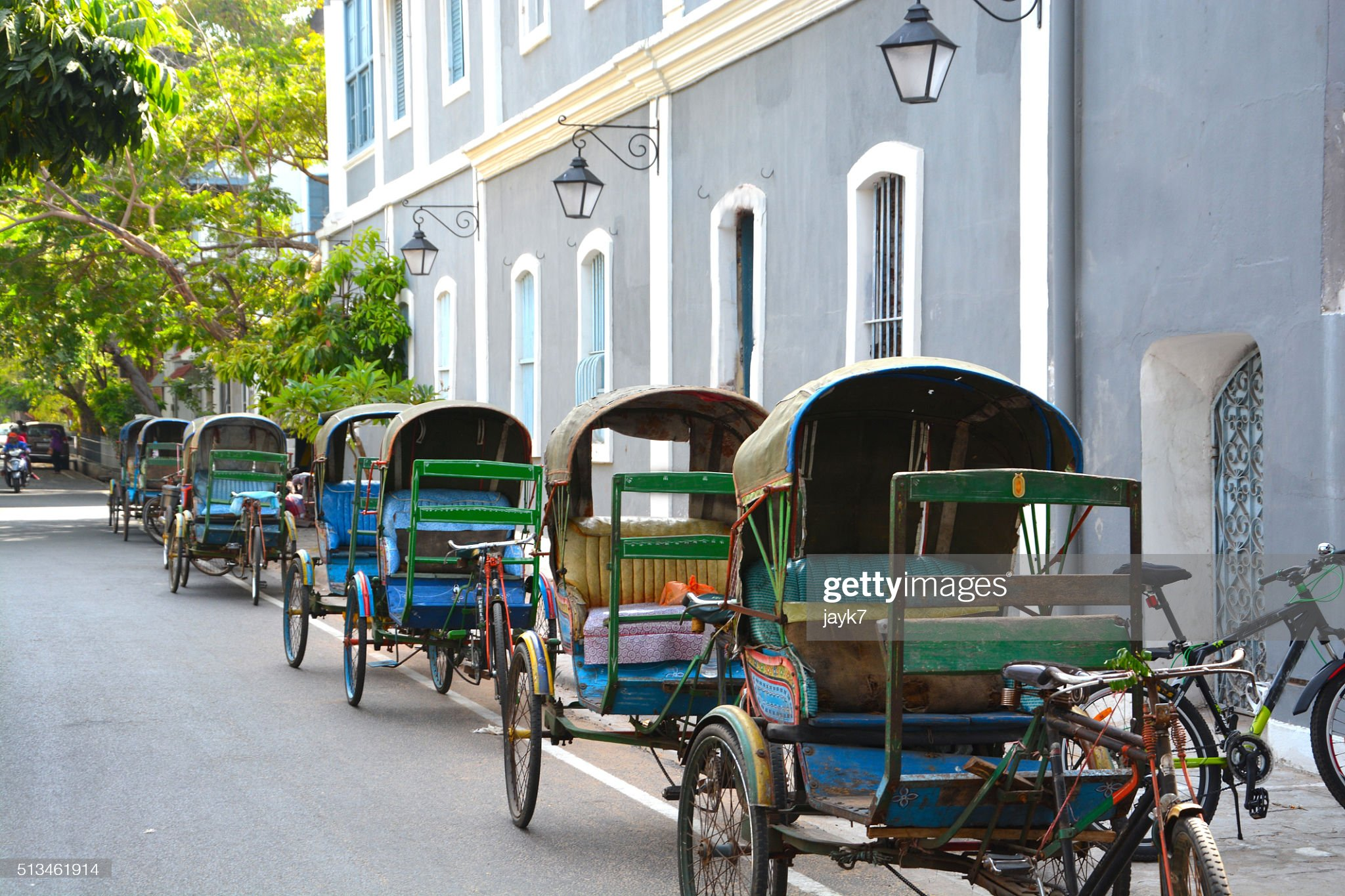 Cycle rickshaws : Stock Photo