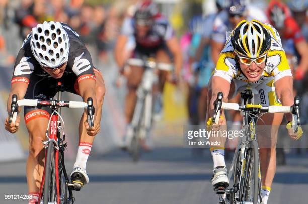 Milan - Sanremo Arrival Sprint, Heinrich Haussler , Marc Cavendish , Milaan - San Remo , Tim De Waele