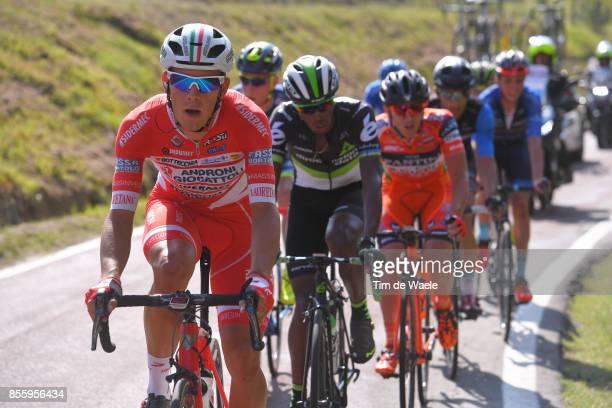 100th Giro dell'Emilia 2017 Davide BALLERINI / Adrien NIYONSHUTI / Bologna BolognaSan Luca 268m / GDE /