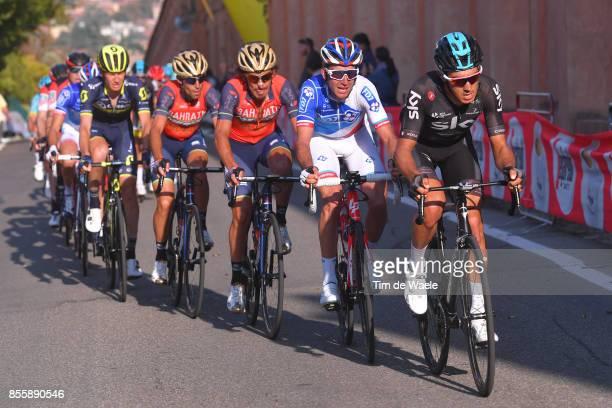 100th Giro dell'Emilia 2017 Diego ROSA / Manuele BOARO / Vincenzo NIBALI / Bologna BolognaSan Luca 268m / GDE /