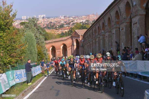 100th Giro dell'Emilia 2017 Kenny ELISSONDE / Giovanni VISCONTI / Peloton / Bologna BolognaSan Luca 268m / GDE /