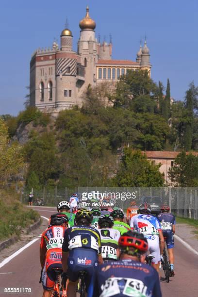 100th Giro dell'Emilia 2017 Landscape / Ponte City / Castle / Peloton / Bologna BolognaSan Luca 268m / GDE /