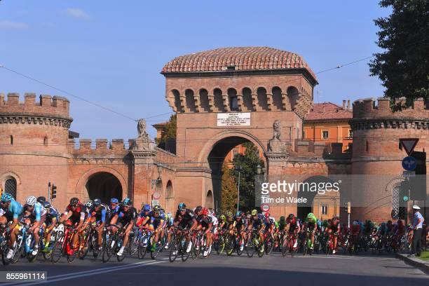 100th Giro dell'Emilia 2017 Peloton / BOLOGNA City / Landscape / Bologna BolognaSan Luca 268m / GDE /
