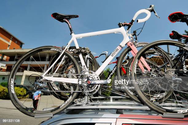 100Th Giro D'Italia 2009 Stage 11Illustration Illustratie Giro 100 Year Cervelo Special Bike Velo Fiets Skoda Car Voiture Auto Team Cervelo Test Team...