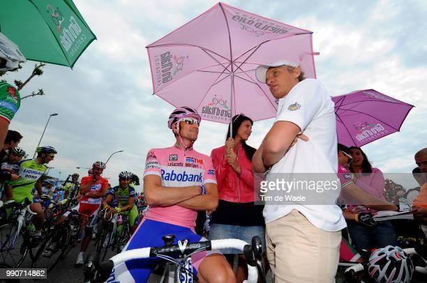 100Th Giro D'Italia 2009 Stage 20Menchov Denis Pink Jersey Oleg Tinkoff Napoli Anagni Tour Of Italy Tour Italie Ronde Van Italie Rit Etape Tim De...