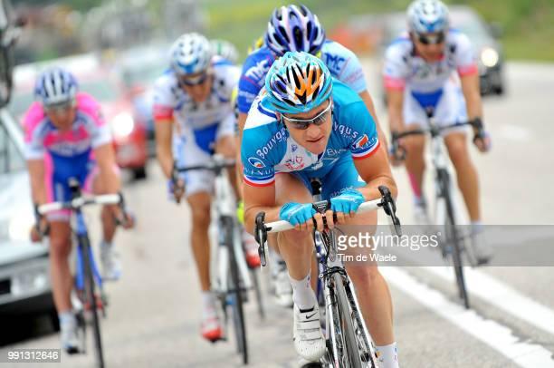 100Th Giro D'Italia 2009 Stage 5Thomas Voeckler San Martino Di Castrozza Alpe Di Siusi Tour Of Italy Tour Italie Ronde Van Italie Rit Etape Tim De...