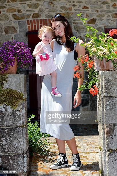 100th Tour de France 2013 / Restday Family Peta TODD Wife Delilah Grace CAVENDISH Daughter / Team Omega Pharma QuickStep OPQS / Jour de repos Rustdag...